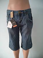 Бриджи мужские джинсовые SLIM FIT
