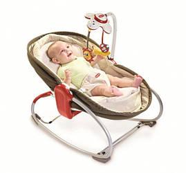 Кресло-кроватка-качалка Tiny Love Мамина любовь 3 в 1, коричневое