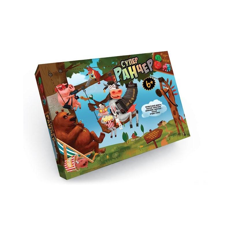 Гра настільна Danko Toys Супер Ранчер (Укр) (G-FL-01-01)