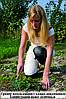 Садовые наколенники из овечьей шерсти