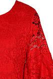 Яркое Нарядное платье  из кружевного гипюра 140-152р, фото 4