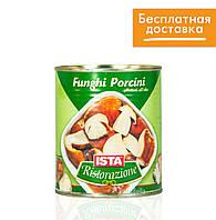 """Белые грибы в масле - """"Funghi porcini affettati"""" 780g Ista Pastabella"""