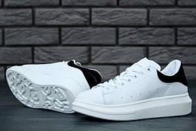 Кроссовки женские Alexander McQueen Oversized Sneakers код товара KD-11480. Белые