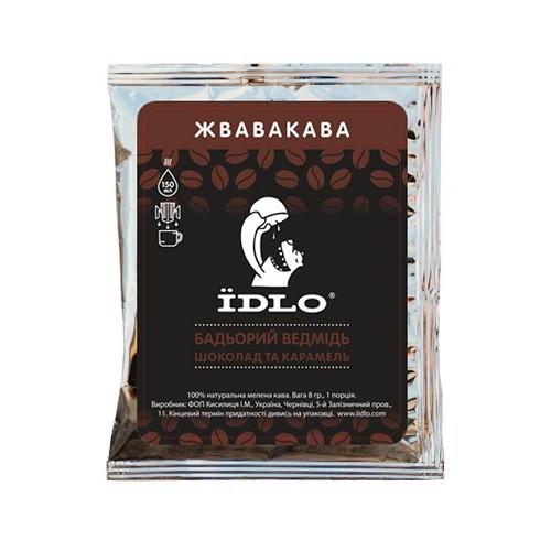 Idlo Кофе Бодрый медведь порционный в саше