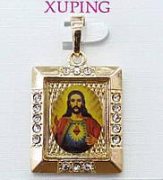 Позолоченные кулоны с иконами Xuping. Украшения от Бижутерии R.R.R. низкие цены от производителей. 21