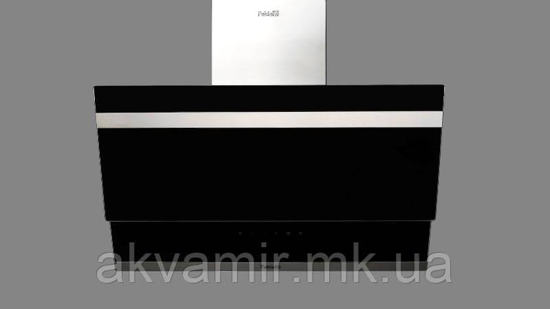 Вытяжка Fabiano Prisma 60 Black (черное стекло) наклонная