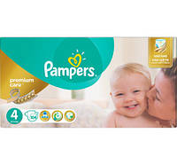 ПОДГУЗНИКИ PAMPERS PREMIUM CARE MAXI   4 (8-14 КГ) MEGA 104ШТ