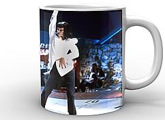 Кружка GeekLand Криминальное чтиво Pulp Fiction Dance PF.02.001 белая