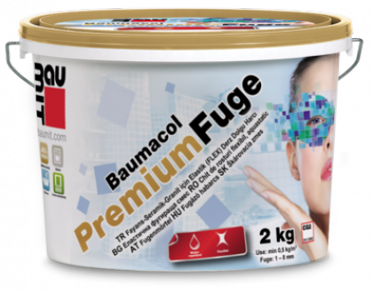 Вaumit  Premium Fuge затирка для швів (колір в асортименті) (2мм-7мм)  2кг