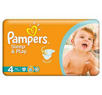 ПОДГУЗНИКИ PAMPERS SLEEP & PLAY MAXI (7-14 КГ) ЭКОНОМ 50ШТ