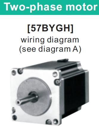 57BYGH051 двухфазный шаговый двигатель
