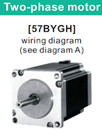 57BYGH051 двухфазный шаговый двигатель, фото 1