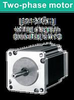 57BYGH076 двухфазный шаговый двигатель, фото 1