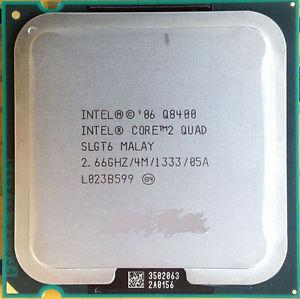 Процессор Intel Core 2 Quad Q8400 (SLGT6, 4M Cache, 2.66 GHz, 1333 MHz