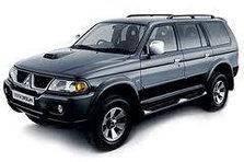 Дефлектор капоту (мухобійка, відбійник капота) Mitsubishi Pajero Sport 1998-2008