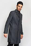 Пальто мужское классическое 662K001 (Грифельный)