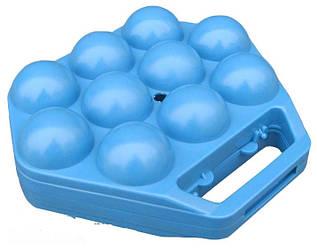 Лоток на 10 яиц 1-й сорт 18х19см, цвета в ассортименте