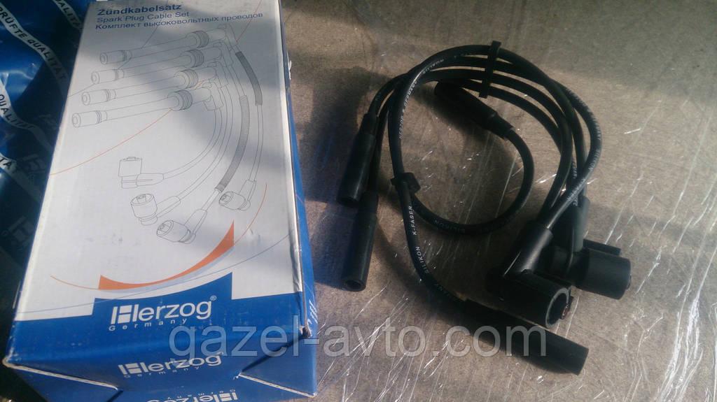 Провод зажигания высоковольтный ВАЗ 2108-10 (инж.) 8 клап. (комплект) (пр-во HERZOG)