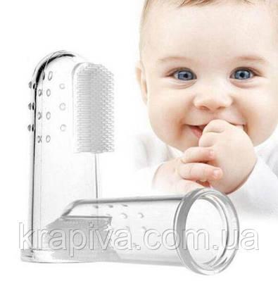 Щетка для зубов и десен массажная Canpol для младенцев и детей