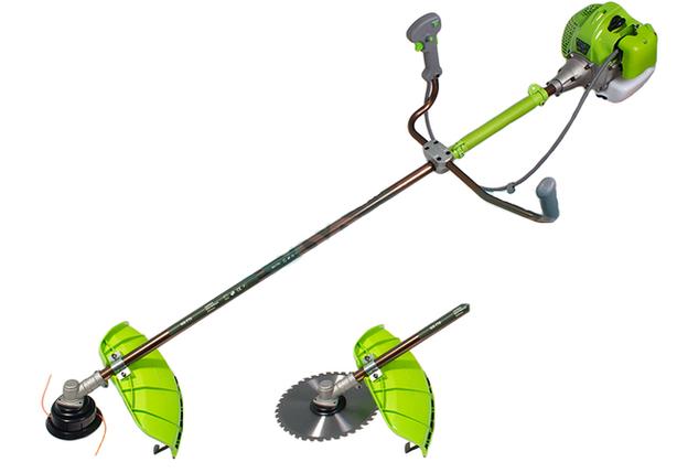 Бензокоса Craft - tec PRO 3500 Вт (легкий пуск, диск с победитом, 1 шпуля,  рюкзак) , фото 2