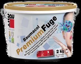 Вaumit Premium Fuge затирка для швов зеленая (2мм-7мм) 2кг