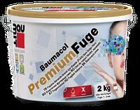 Вaumit  Premium Fuge затирка для швів коричнева  (2мм-7мм)  2кг