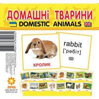 """Карточки-мини """"Домашние животные"""""""