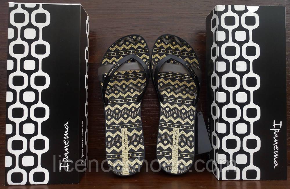 24 расцветок. Женские вьетнамки Ipanema Kirey Silk III Black