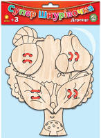 Деревяная супершнуровка. Дерево