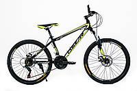 """Велосипед OSKAR 24""""-1610 ST чёрный"""