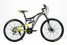 """Велосипед OSKAR 26""""-1740 ST чёрный"""
