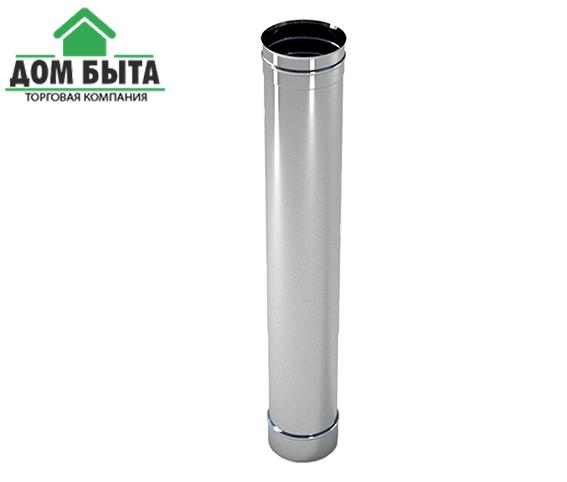 Труба 0.5 м з оцинкованого металу з діаметром 120