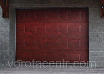 Автоматичні секційні гаражні ворота RSD02 2800х2300 DoorHan