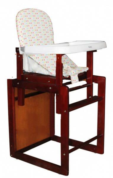 стульчик для кормления трансформер Geoby My 301с Wxsx телесный в
