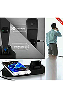 Inteligent Беспроводное bluetooth зарядное устройство ОРИГИНАЛ!! универсальное с  блютуз трубкой, фото 1