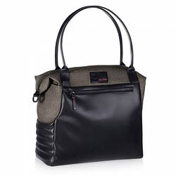 Сумка Cybex Priam Changing Bag Desert Khaki Black Denim, хакі