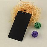 Дисплей+сенсор (модуль) для Elephone P6000 pro чорний, фото 2