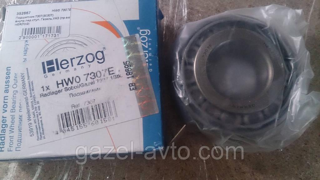 Подшипник 7307(30307) внутр.пер.ступ. Газель,УАЗ (пр-во HERZOG)