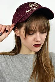 Женская кепка ВВ марсала