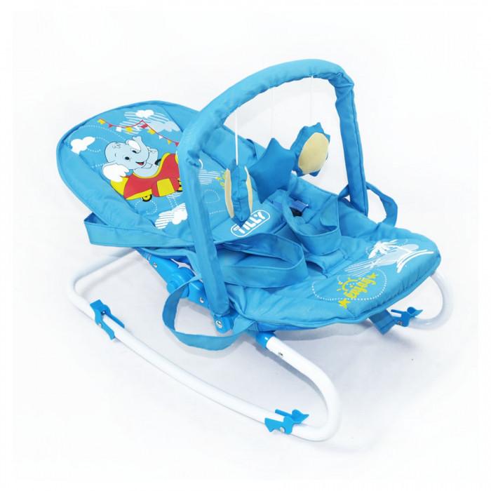 Дитячий шезлонг-качалка BT-BB-0001 Blue