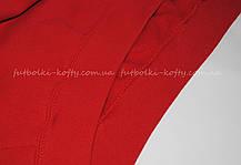 10abd24a Детская премиум толстовка с капюшоном Красная Fruit Of The Loom 62-037-40 14