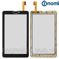Сенсорный экран для Nomi C07001, C07003, C07002 HD Lyra, черный, оригинал