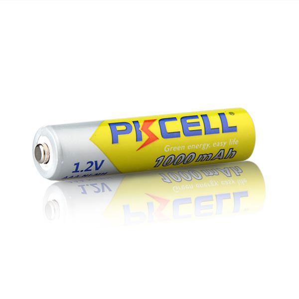 Аккумуляторы PKCELL AAA. Реальная емкость 900-1100 мАч