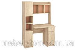 Стол письменный Эридан, стол с надстройкой, с пеналом