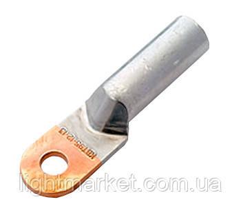 Наконечник медно-алюминиевый длинный 50кв DTL, фото 2