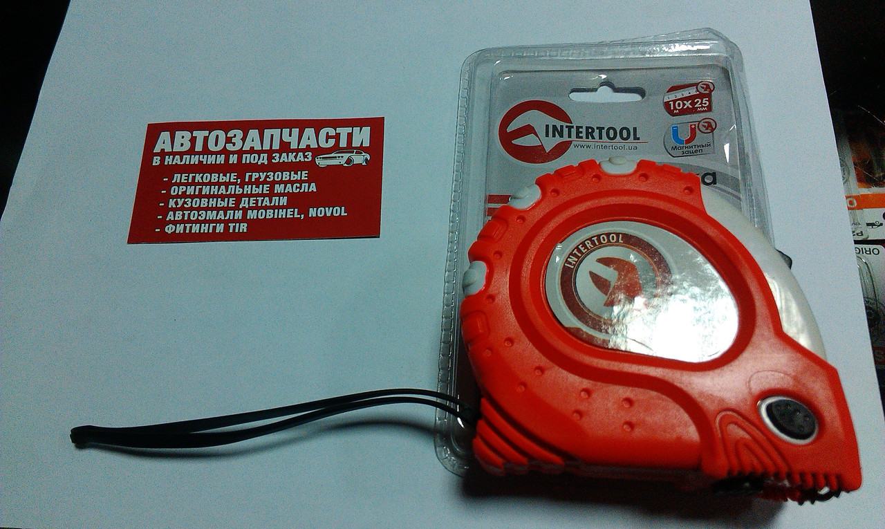 Рулетка 10 м. Intertool