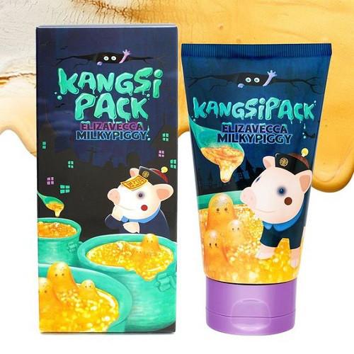 Очищающая маска с золотым порошкомElizaveccaMilky Piggy Kangsi Pack Mask
