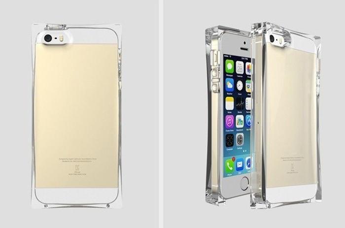 Блок чехол для Iphone 5 5s ICE Cube Case