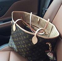 Женския сумка Жіноча сумка Louis Vuitton Neverfull Monogram Canvas, фото 1