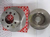 Диск тормозной задний FEBI 09101 (чугунный) MERCEDES SPRINTER 308-316CDI 96-> (272x16)) 300я серия